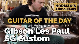 Guitar of the Day: Gibson Les Paul SG Custom | Norman's Rare Guitars