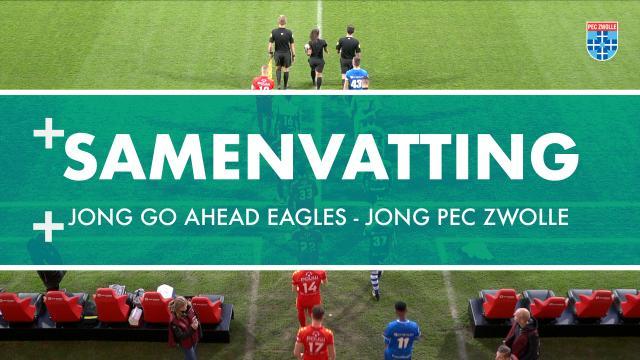 Samenvatting Jong Go Ahead Eagles - Jong PEC Zwolle