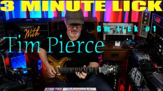 3 MINUTE LICK with Tim Pierce: Gm lick #1