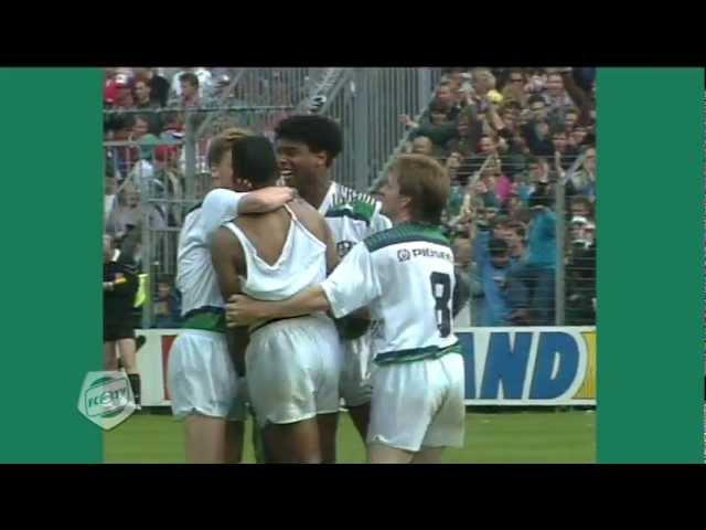Het seizoen '90-'91: FC Groningen streed lang mee om de titel