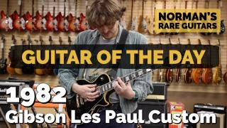 Norman's Rare Guitars | Guitar of the Day | 1982 Gibson Les Paul Custom