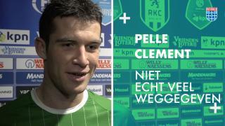 Pelle Clement: 'Niet echt veel weggegeven.'