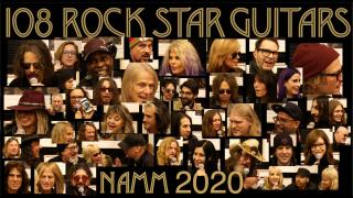 "108 Rock Star Guitars at NAMM 2020: ""if you could play any guitar from Rock history, what would it be...?"