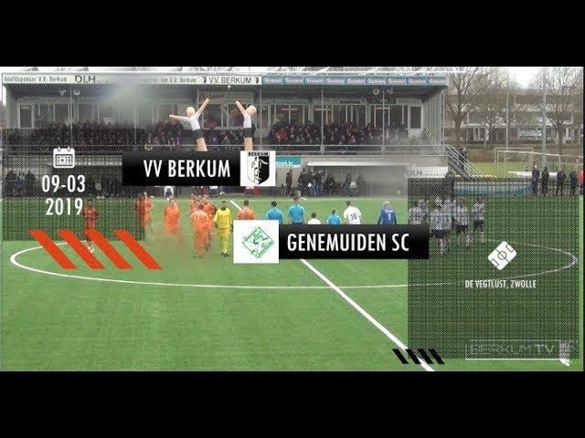 VV Berkum - SC Genemuiden