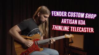 Alamo Music Center | Fender Custom Shop Artisan Koa Thinline Telecaster Review and Demo