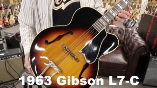The Vintage Guitar Minute: 1963 Gibson L7-C