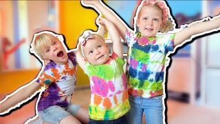 TiE DYE OUTFiT VOOR HET VOORJAAR!  | Bellinga Vlog #1703