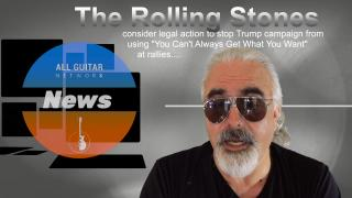 AGN News: Rolling Stones consider legal action against the  Trump Campaign