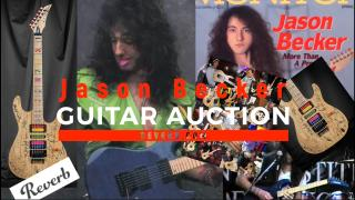 Kiesel JB24 Jason Becker Tribute - Signed by Multiple Guitarists sells on Reverb for $25k