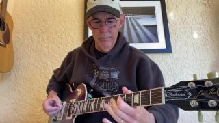 Jim White: B minor blues with Echoplex: