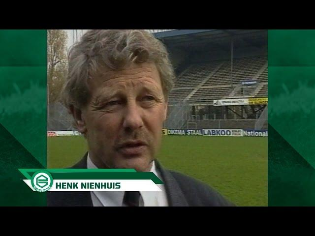 Henk Nienhuis, voetbalicoon van het noorden