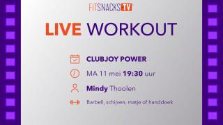 LIVE | ClubJoy Power met Mindy Thoolen (11/5/2020)