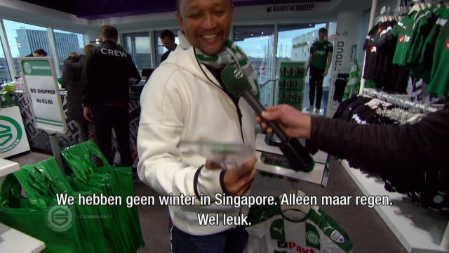 Fandi Ahmad terug in Groningen