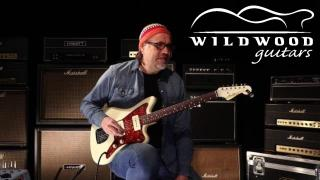 Wildwood Guitars • Fender Custom Shop NAMM Masterbuilt '60s Jazzmaster by Carlos Lopez • SN R101857