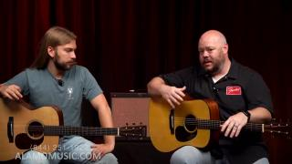 Martin Custom Shop Acoustic Guitars A Step Up from the 18 Series