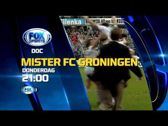 Donderdag 29 dec. 21.00 uur op Fox Sports 1: Mister FC Groningen