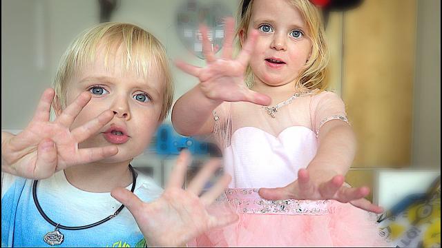 PASAPAS DANSJE LEREN  ( van Kinderen voor Kinderen) | Bellinga Familie Vloggers #1314