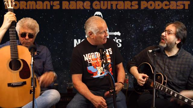 Norman's Rare Guitars Podcast: Episode 14: James Santiago & Michael Georgiades