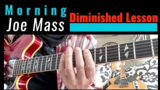 "Tip Of The Morning with Joe Mass: Using Diminished scales in a Blues in ""A"""