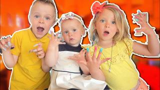 NEPNAGELS VOOR 1 DAG!  | Bellinga Vlog #1712