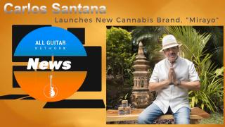Oct 6th, 2020: Carlos Santana Launches New Cannabis Brand Mirayo, inspired by Latin heritage.