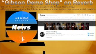 UPDATE: Wednesday Nov 25, 2020: Gibson partners with Reverb to launch the Gibson Demo Shop,  offering a direct source for Gibson prototypes, demo guitars, pre-played artist models .  .mp4