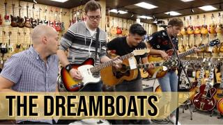 "The Dreamboats ""Waiting for the Girl"" at Norman's Rare Guitars"
