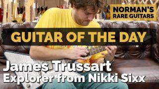 James Trussart Explorer from Nikki Sixx