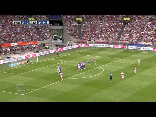 Samenvatting Johan Cruijff Schaal PEC Zwolle - Ajax