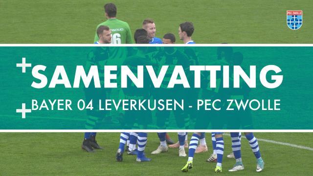 Samenvatting Bayer 04 Leverkusen - PEC Zwolle