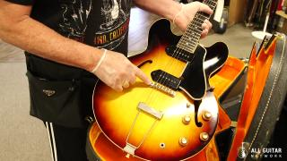 Norman Harris just bought a RARE 1960 Gibson ES-330