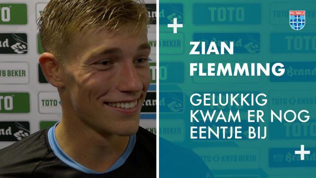 Zian Flemming: 'Gelukkig kwam er nog eentje bij'