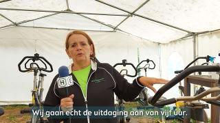 Kom kijken bij de spinningmarathon van Sportschool Hierden