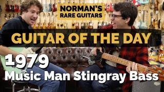 1979 Music Man Stingray Bass