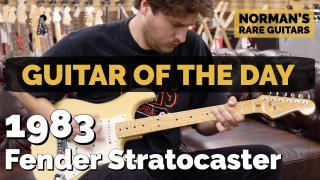 1983 Fender Stratocaster