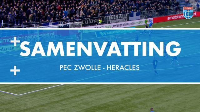 Samenvatting PEC Zwolle - Heracles