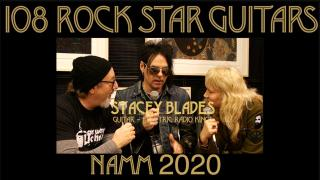 108 ROCK STAR GUITARS AT NAMM 2020: Stacy Blades