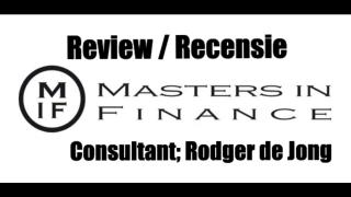 Masters In Finance - Review Recensie Rodger de Jong
