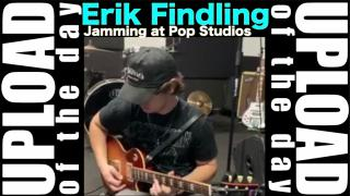 Erik Findling: Jamming at Pop Studios