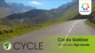 Col du Galibier Xpress 30 min High Intensity
