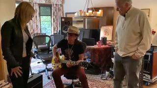 Richie Sambora signed 1957 Gibson Les Paul Standard Goldtop RI for AUCTION