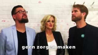 Sjors & Ruud krijgen tips van Tineke Schouten