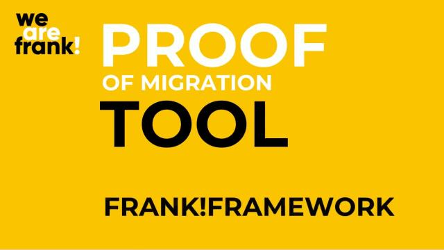 Frank!Framework Proof of Migration Animatie