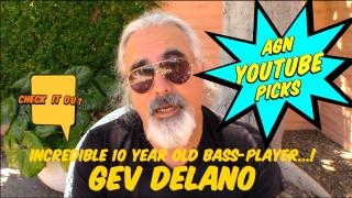 "AGN Youtube Picks: Incredible 10 year old Bass player, Gev Delano playing Incognito's ""Talkin' Loud"""