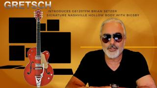 Oct 1st, 2020: GRETSCH  INTRODUCES G6120TFM BRIAN SETZER SIGNATURE NASHVILLE, HOLLOW BODY WITH BIGSBY