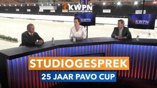 Studiogesprek - 25 jaar PAVO Cup!
