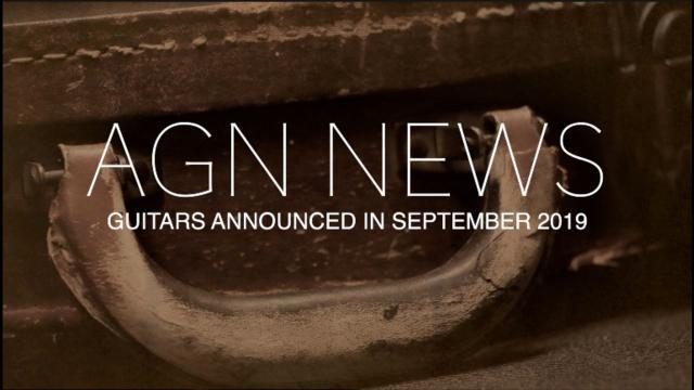 Guitars Announced in September 2019