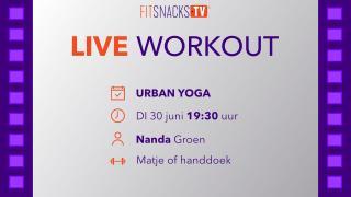 Urban Yoga met Nanda Groen