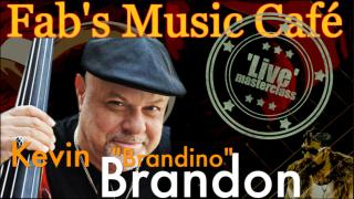 "Fab's Music Cafe, 'Live': Kevin ""Brandino"" Brandon."