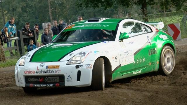 Deltion Rallyteam tijdens Hellendoorn Rally 2017